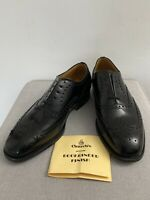 CHURCH'S Famous English Shoes BROGUE BLACK bookbinder leather size 5 g