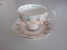 """Vintage Paragon China Cup & Saucer Appt HM To The Queen """"Margot"""" Pattern NICE"""