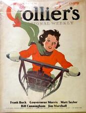 Collier's Magazine, January 11, 1936 - FULL MAGAZINE