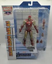"Marvel Select Avengers: Endgame IRON MAN MARK 85 MK 7"" Action Figure Diamond"