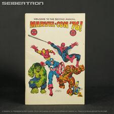 MARVEL-CON '76 Program #0 1976 Marvel Comics Convention Collectible Guide