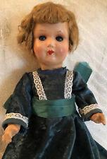 14 Inch Vintage German Papier Mache Doll-Kreuger