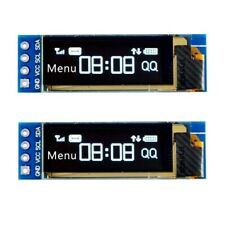 "2pcs 0.91"" I2C OLED Display Module SSD1306 OLED Display Module 3.3V5V for Arduin"
