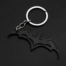 Batman Logo Marvel DC Superhero Bat Keychain Metal Key Chain Key Fob Keyfob Gift