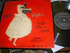 "FRANKIE CARLE DESFILE DE BAILE 10"" LP SPANISH PHILIPS  B 07600 R MONO NEAR MINT"