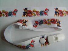 Un bellissimo PAW PATROL Manichino Clip/ciuccio/Toy clip (NUOVO)