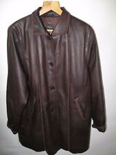 Ladies Leather Coat  Jacket  Generous sized 16 to 18  Montana of Norway