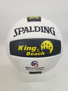 Spalding King of the Beach USA Beach Official Tour Volleyball GREAT CONDITION