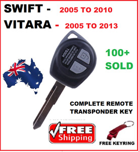 Fits Suzuki SWIFT GRand Vitara Remote Key 2005 2006 2007 2008 2009 2010 - 2012