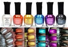 6 PCS New Kleancolor FULL SIZE METALLIC LOT Nail Polish Colors SET 2