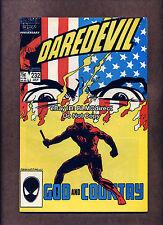 1986 Daredevil #232 1st Frank Simpson VF+ First Print Marvel Comics Nuke Death