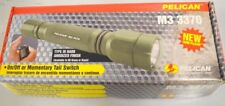 Pelican M3 3370 Green Tactical Flashlight, Xenon Beam W/Case and batteries
