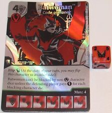 FOIL BATWOMAN: CODE OF HONOR 47/124 Batman Dice Masters DC