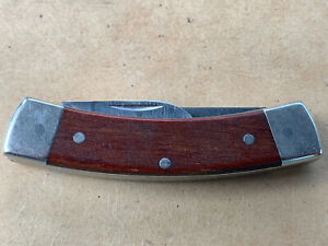 Vintage Schrade usa C642 3RD Generation Two Blade Knife Sow Belly- RARE
