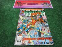 vtg invincible Iron Man 145 Marvel Comic book 1st print hi res pics