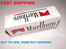 1000 rouge MARLBORO Taille King faire votre propre vide Cigarette Filter Tubes