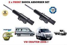 Per VW Crafter 30-35 30-50 Van Bus 2006 - > 2X FRONT AMMORTIZZATORE SHOCK Set
