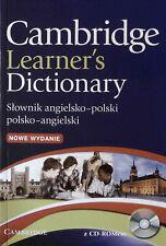 Cambridge LEARNER'S DICTIONARY ENGLISH-POLISH +CD-ROM Slownik Angielsko-Polski