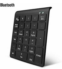 Wireless Numeric Keypad 27 Keys Portable External Numpad Keyboard Laptop Black
