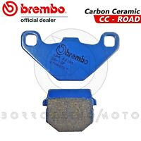 PASTIGLIE FRENO POSTERIORI BREMBO BLU CARBON CERAMIC RIEJU RS2 NKD 50-125 2012