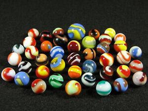 Vintage & antique marbles. 1911-1951 Akro Agate Corkscrews.