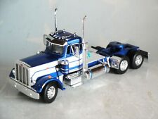 DCP BLUE WHITE PETERBILT 359 DAY CAB 1/64 60-0662 C