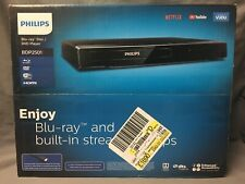 PHILIPS BDP2501 Blu-Ray/DVD HDMI Player with built in Wi-Fi NEW!!