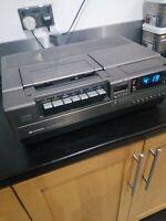 Vintage Hitachi VT5000E Top Loading Home Movie VCR VHS Tape Deck Player RARE