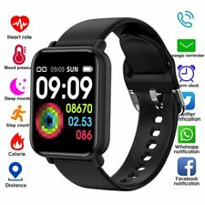 Smart Watch Band Heart Rate Oxygen Blood Pressure Fitness Tracker Bracelet Sport