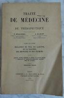 1905 Tratta Medicina Malattie Del Naso Volume Baillière VII 3è Édit. Parigi) 4 '
