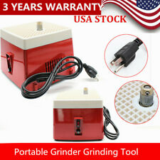 Portable Stained Glass Grinder Tray Art Grinding Tool Diamond Glass Art Grinding