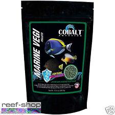 Cobalt Aquatics Marine Vegi Pellets 10 oz. Fish Food Granules FREE USA SHIPPING!