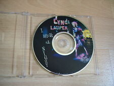 CYNDI LAUPER I Drove All Night 1989 USA Picture CD single