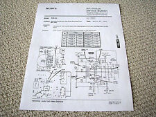 Sony TCD-D3 DAT deck service bulletin - analogue input circuitry modifications