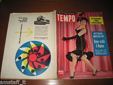 RIVISTA TEMPO 1956/3=GINA LOLLOBRIGIDA=ARTURO TOSI=RANIERI GRACE KELLY=