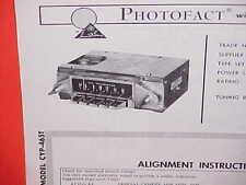1965 CHRYSLER 300-L NEWPORT CONVERTIBLE NEW YORKER AM RADIO SERVICE MANUAL 65 2