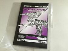 Transformers Beast Wars MEGATRON instructions book manual transmetal