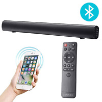 Zennox Bluetooth Sound Bar with Built In Sub-Woofer, 80W, 36 Inch Home Cinema or