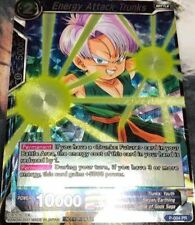 Dragon Ball Super Card Game Tournament Pack Promo Energy Attack Trunks Foil