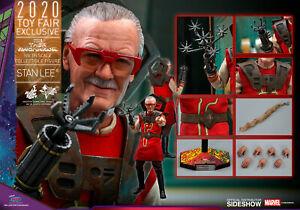 Sideshow Hot Toys 1/6 Scale Figure STAN LEE Thor Ragnarok MMS570 Toy Fair 2020