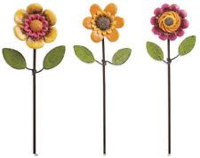 Gypsy Garden Mini Flower Picks - Set of 3 asst. by Genevieve Gail