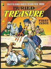 BURIED TREASURE MAGAZINE # 1 JACK KIRBY THEAKSTON WALLY WOOD TOTH GA REPRINTS