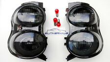 SMOKED Smart Fortwo W 451 Cabrio Brabus Tailor Made Ultimate Black Rear Lights