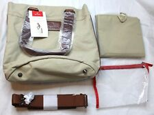 Maclaren Nappy Bag Huron Luxury Diaper Bag With Changing Mat New NWT