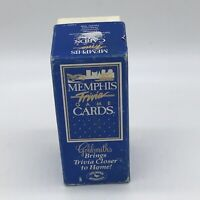 Memphis Trivia Game Cards By Goldsmiths Very Rare From 1985 Complete