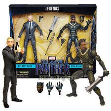 Marvel Legends Black Panther 6 Inch Figure Set - Everett Ross & Eric Killmonger