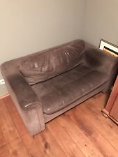 De Sede Sofa, 2-Sitzer, Leder, ausziehbar