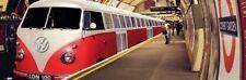 POSTER VW Volkswagen Camper Tube London Underground