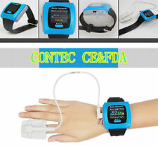 Wrist Watch Pulse Oximeter Spo2 Monitor Daily And Overnight Sleep USB Software