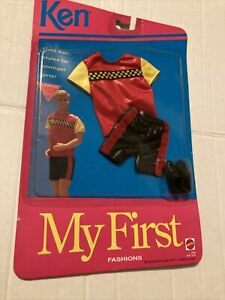 1992 Mattel Barbie Ken My First Fashions Shorts Outfit Set 2945